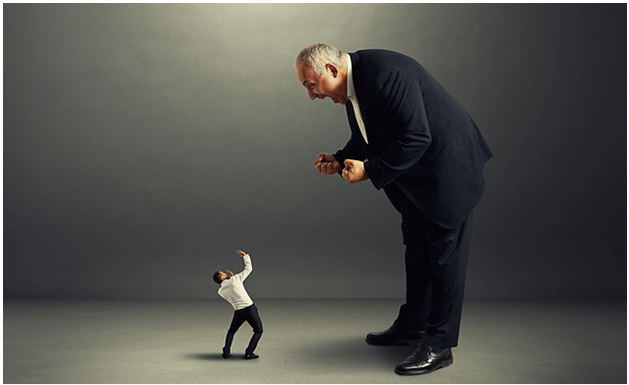 Person yelling at another person due to failure in implementing decisions, and in managing projects and processes, showing how crucial it is to prevent such disasters
