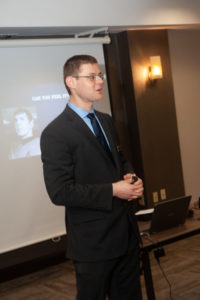 Photo of Dr. Gleb Tsipursky speaking