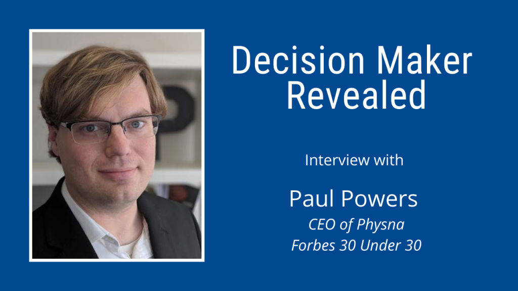 Paul Powers, CEO of Physna