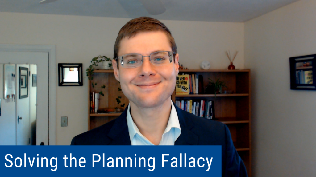 """Failing to Plan is Planning to Fail"""
