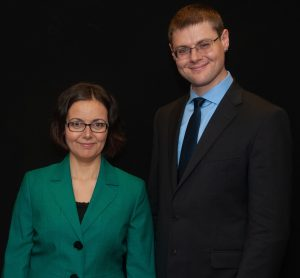 photo of Gleb Tsipursky and Agnes Vishnevkin